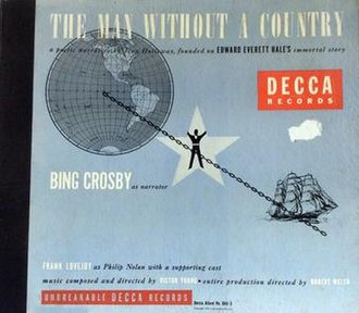 The Man Without a Country (album) - Image: The Man Without a Country (Bing Crosby album) (album cover)