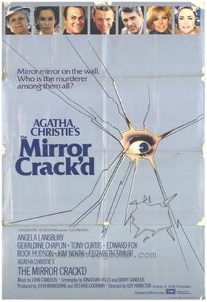 The Mirror Crack'd - Theatrical release poster
