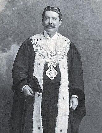 Thomas Hughes (Sydney mayor) - Image: Thomas Hughes Lord Mayor of Sydney
