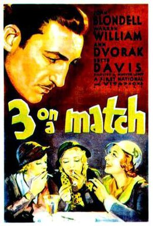 Three on a Match - Image: Three On A Match
