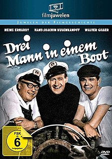 <i>Three Men in a Boat</i> (1961 film) 1961 Austrian film directed by Helmut Weiss