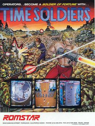 Time Soldiers - Arcade flyer