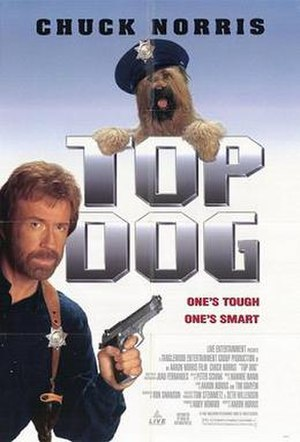 Top Dog (1995 film) - Theatrical release poster
