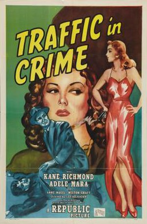Traffic in Crime - Theatrical release poster