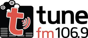 TUNE! FM - Image: Tunefm 1069logo