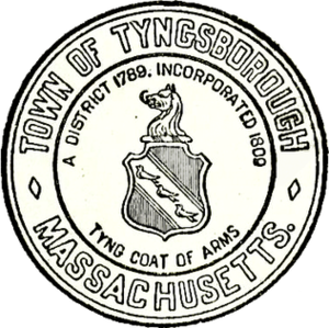 Tyngsborough, Massachusetts - Image: Tyngsborough MA seal