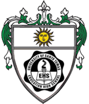 University of Santo Tomas Education High School - Image: UST Education High School seal