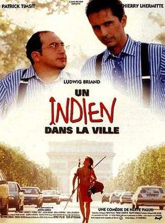Un indien dans la ville - French poster.