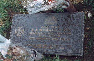 Kevin Wheatley - Wheatley's grave at Pine Grove Memorial Park.