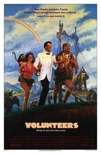 Volunteers (film) - The movie cover for Volunteers.