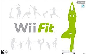 Wii Fit - Wii Fit European box art