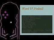 The Word 97 Pinball.