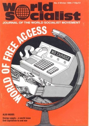 World Socialist Movement - Cover of World Socialist, issue 6 (Winter 1986 to 1987)