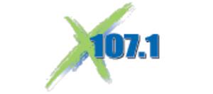 ZFKX-FM - Image: X107.1 Radio logo