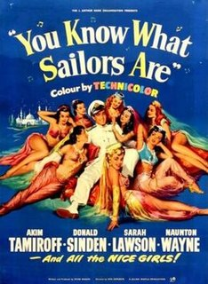 <i>You Know What Sailors Are</i> (1954 film)