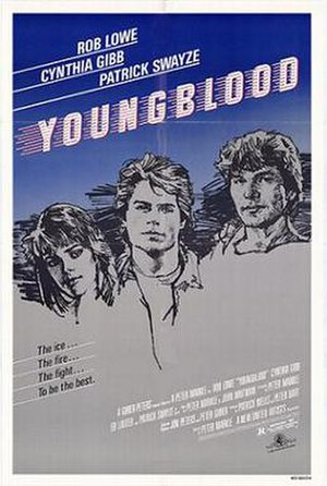 Youngblood (1986 film) - Theatrical release poster