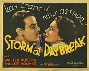 "Storm at Daybreak - Image: ""Storm at Daybreak"" (1933)"