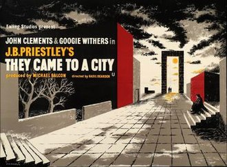 """They Came to a City - Image: """"They Came to a City"""" (1945)"""