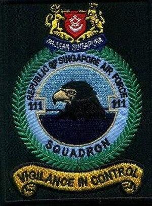 111 Squadron, Republic of Singapore Air Force