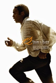 2013 British-American historical drama film directed by Steve McQueen