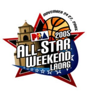 2005–06 PBA season - Image: 2005 PBA All Star Game logo