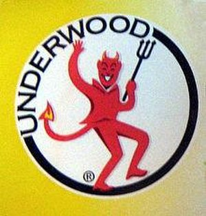 William Underwood Company - 2008 logo from Underwood Chicken Spread. Color and shading were added to the previous logo