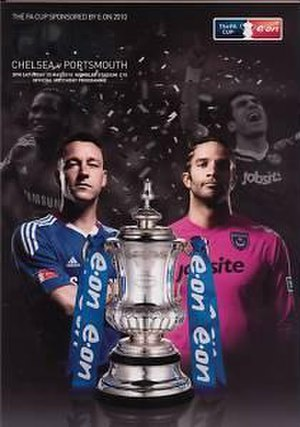 2010 FA Cup Final - The match programme cover