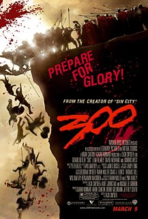 <i>300</i> (film) 2007 film by Zack Snyder