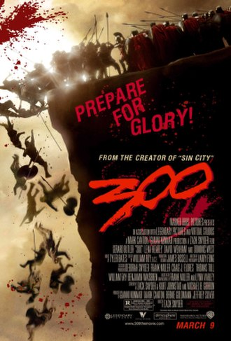 300 (film) - Theatrical release poster