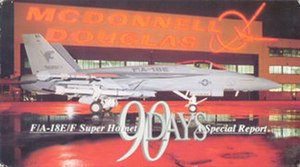 90 Days - VHS cover from the Super Hornet special report