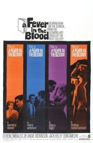 A Fever in the Blood - Theatrical release poster