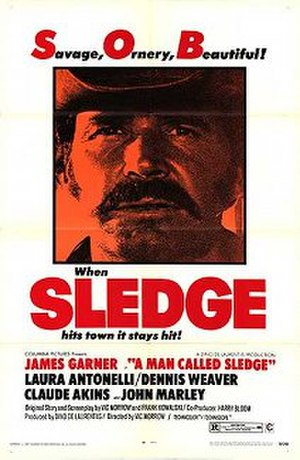 A Man Called Sledge - US film poster