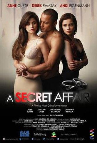 A Secret Affair - Theatrical release poster