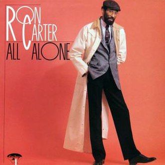 All Alone (Ron Carter album) - Image: All Alone (Ron Carter album)