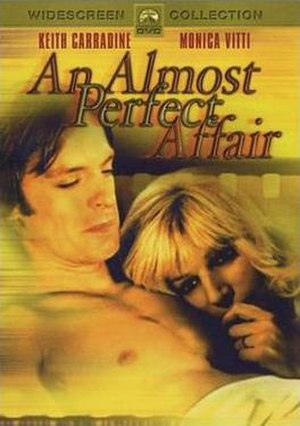 An Almost Perfect Affair - DVD release cover
