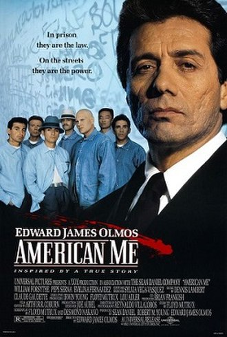 American Me - Theatrical release poster
