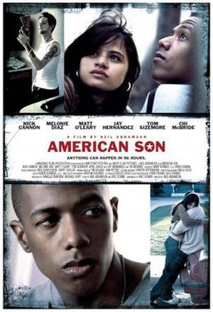 American Son (film) - Theatrical release poster