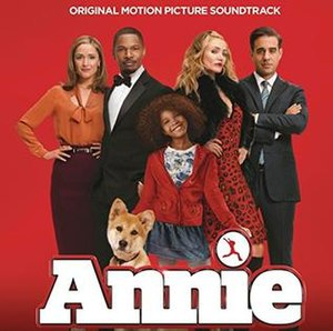 Annie (2014 film soundtrack) - Image: Annie (2014 film soundtrack)