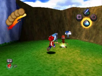 Ape Escape (video game) - In Ape Escape, players are tasked with pursuing and capturing fleeing apes, using gadgets such as the Time Net.