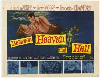 Between Heaven and Hell (film) - Theatrical release lobby card