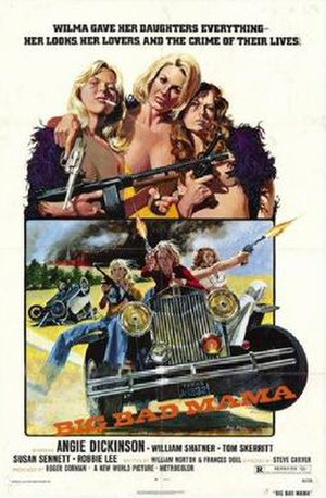 Big Bad Mama - Promotional poster