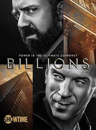 Billions (TV series) - Image: Billions Key Art