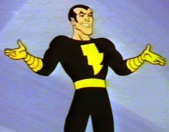 Black Adam - Black Adam in 1981's Shazam! animated series.