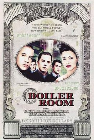 Boiler Room (film) - Theatrical release poster