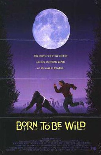Born to Be Wild (1995 film) - Theatrical release poster