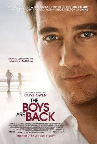 The Boys Are Back (film) - Theatrical release poster
