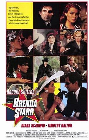 Brenda Starr (film) - U.S. theatrical release poster