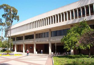 California State University, Long Beach - E. James Brotman Hall, the university's administrative headquarters on campus.