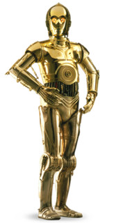 C-3PO robot character from the Star Wars universe