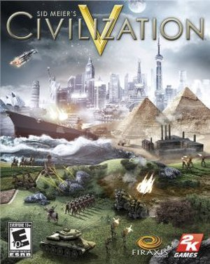 Civilization V - Image: CIVILIZATION V FRONT OF BOX